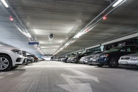 Multifunctional car park P4 at Vilnius Airport, Lithuania